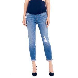 Ingrid & Isabel Maternity Mia Boyfriend Jeans 32